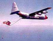 6593d Test Squadron - Lockheed JC-130B 57-527