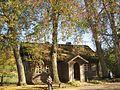 """680. Mikhailovskoye village. (Pskov oblast). Former home steward of the estate """"Mikhailovskoye"""".JPG"""