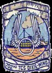 702d Troop Carrier Squadron - Emblem