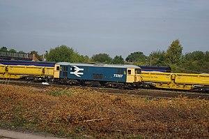 Tonbridge railway station - BR Class 73 in Tonbridge West Yard
