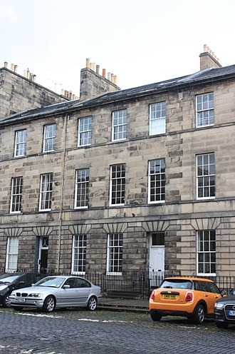Duncan McNeill, 1st Baron Colonsay - 73 Great King Street, Edinburgh