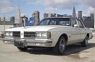 Oldsmobile 88 - 1981 Oldsmobile Delta 88