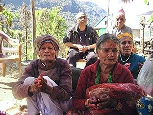 Duradanda - 85 years old man celebrating moons worship