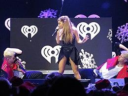 Grande performing in 2013 at 93.3 FLZ Jingle Ball