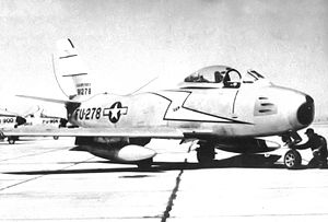 94th Fighter Squadron - North American F-86A-5-NA Sabre 49-1278, March AFB, California, 1950