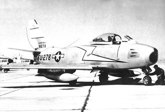 94th Fighter Squadron - North American F-86A-5-NA Sabre, AF Ser. No. 49-1278, March AFB, California, 1950