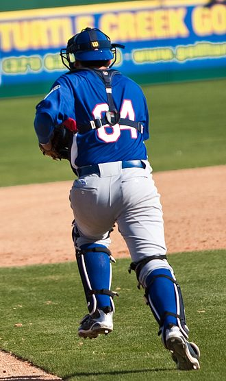 Francisco Cervelli - Cervelli playing for the Italian national team on March 3, 2009, before World Baseball Classic