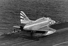 A-4L VA-209 launching from FDR 1970.jpg
