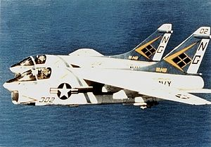 A-7E Corsairs VA-146 in flight c1982.jpg