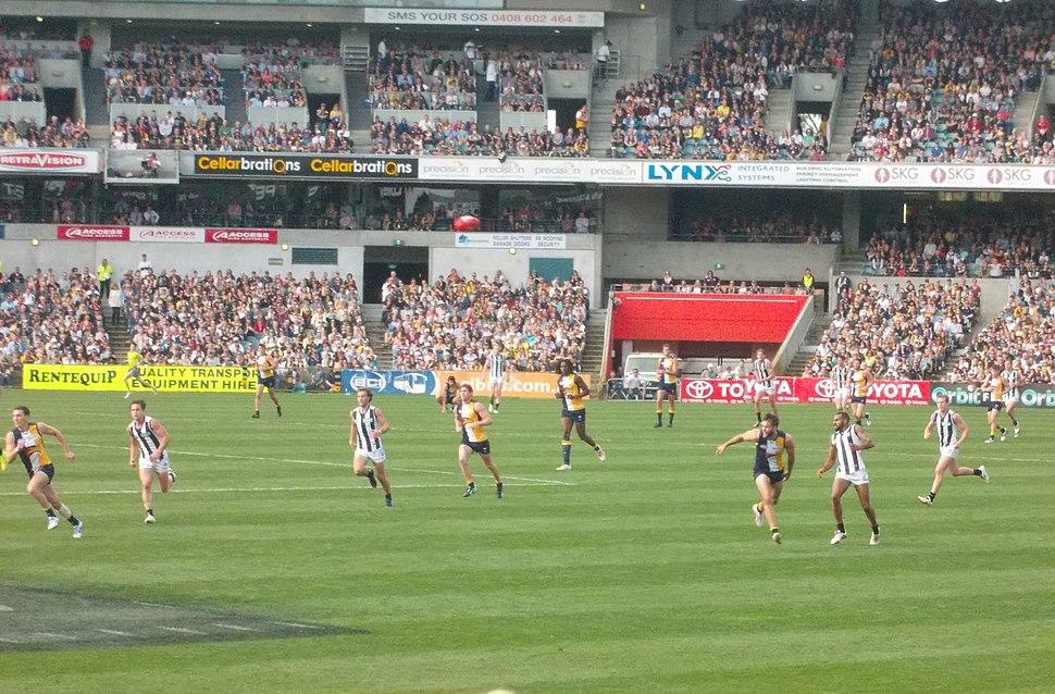 AFL WCE VS COLLINGWOOD