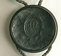 AGAD Komisarze szwedzcy zawierają pokój z Janem Kazimierzem, królem polskim, Leopoldem, cesarzem, i Fryderykiem Wilhelmem, margrabią brandenburskim pieczęć 3.jpg