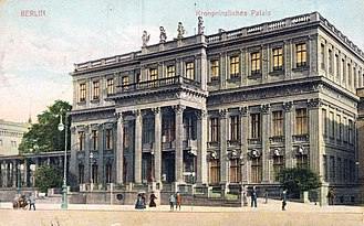 Kronprinzenpalais - Kronprinzenpalais after remodelling by Johann Heinrich Strack, c. 1890