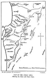 ANZAC bridge-head positions