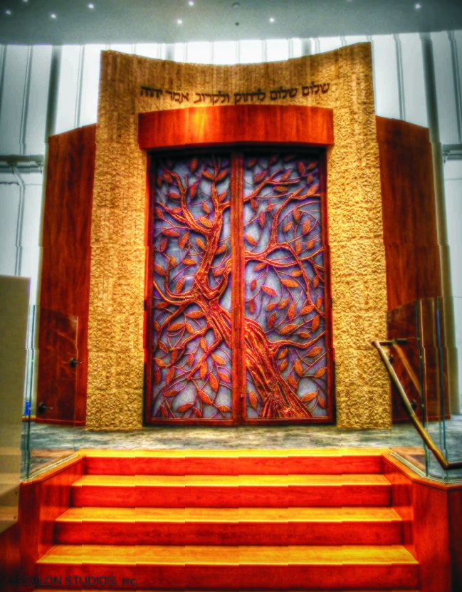 ASCALON STUDIOS, David Ascalon, Lincoln Square Synagogue Ark New York