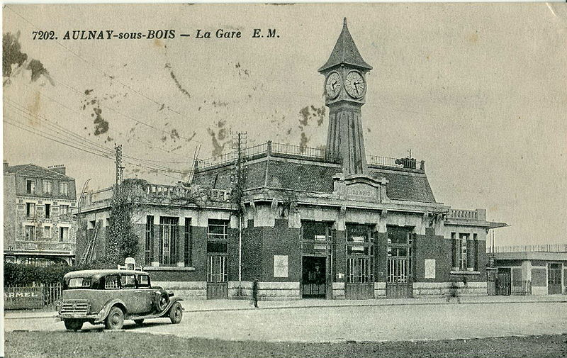 Aulnay Rétro La Gare SNCF  93600INFOSfr ~ Mairie Aulnay Sous Bois Etat Civil