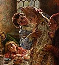 detail from - A Boyar Wedding Feast