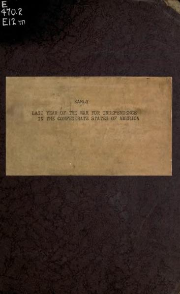 File:A Memoir of the Last Year of the War for Independence in the Confederate States of America.djvu