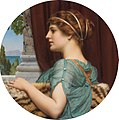A Pompeian lady, by John William Godward.jpg