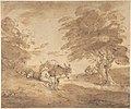 A Rest by the Way (Open Landscape with Figures, Donkey and Horses) MET DP804239.jpg