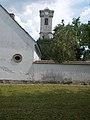 A Szent János-templom maradványa és az ötös remeteház kőkeretes ablaka, 2018 Majkpuszta.jpg
