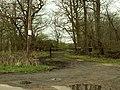 A bridleway as viewed from Goatsmoor Lane - geograph.org.uk - 756195.jpg
