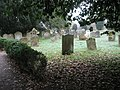 A chilly scene in the churchyard at All Saints, Upper Farringdon - geograph.org.uk - 1100034.jpg