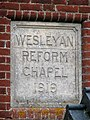 A converted Wesleyan Chapel - plaque - geograph.org.uk - 1077720.jpg