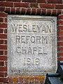A converted Wesleyan Chapel - plaque - geograph.org.uk - 1077720.jpg