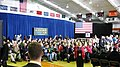 A crowd quickly fills the room at Carroll University in Waukesha in anticipation of Paul Ryan appearance. (8091032287).jpg