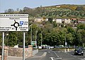 A road sign on Gala Water Bridge - geograph.org.uk - 1271511.jpg