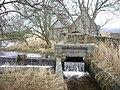 A side sluice, Milton of Garlogie upper dam - geograph.org.uk - 1770106.jpg