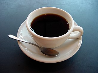 Coffee - Image: A small cup of coffee