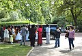 A wedding party in Regents Park - geograph.org.uk - 1426009.jpg