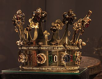 Margaret of York - Crown of Margaret of York, Aachen Cathedral Treasury