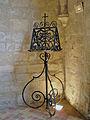 Abbaye de Royaumont - Lutrin dans les cuisines 01.jpg