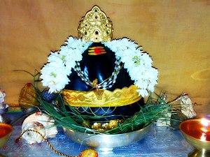 Swayambhu Sri Abhista Gnana Ganapathi Temple -  Main Deity