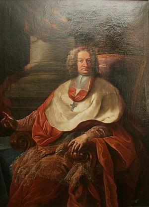 Count Leopold Anton von Firmian - Contemporary portrait, Schloss Leopoldskron