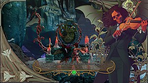 Abyss Odyssey - The art was inspired by the works of Harry Clarke