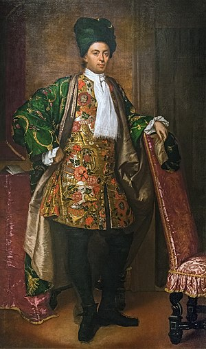 Fra Galgario - Portrait of Count Giovan Battista Vailetti