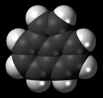 Acenaphthylene - Image: Acenaphthylene 3D spacefill