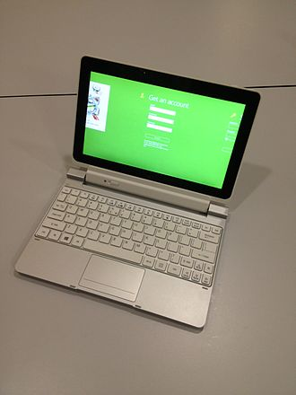 Acer Iconia - Acer Iconia Tab W5 (with a keyboard)