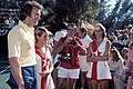 Actor Clint Eastwood posing with a ball girl at Dinah Shore tennis tournament- Fort Lauderdale, Florida.jpg