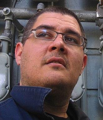 Adam Johnson (writer) - Image: Adam Johnson Writer Water Meter