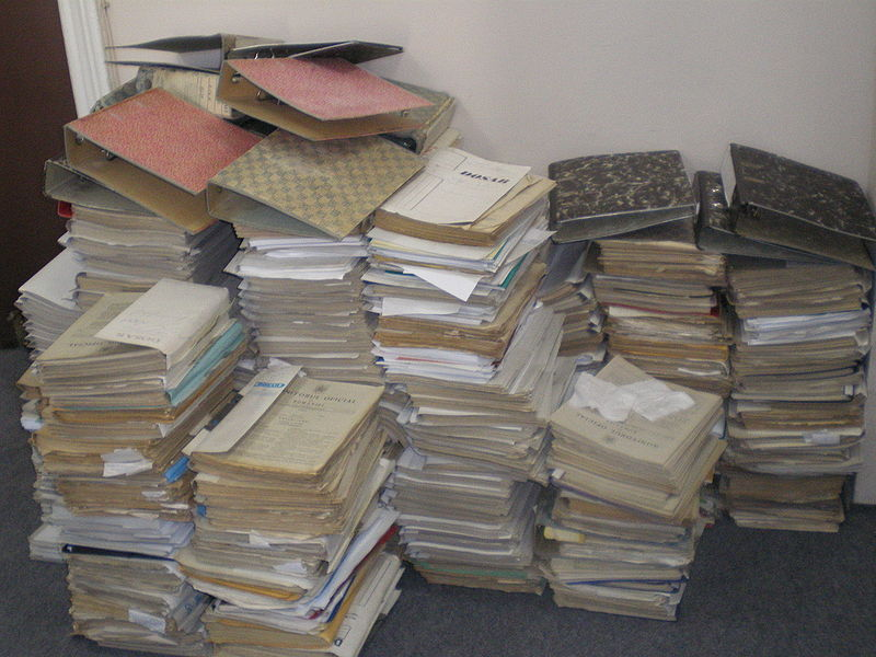 Papiery księgowe