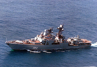 Russian destroyer Admiral Vinogradov - Image: Admiral Vinogradov 1992