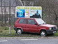 Advertising hoarding for a local chip shop - geograph.org.uk - 376936.jpg