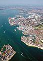 Aerial photograph of Portsmouth Dockyard taken during a Photex, taken from 2,000 feet. MOD 45144954.jpg