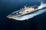 Aerial port bow view of USS Wichita (LCS-13) during acceptance trials US Navy 180711-N-N0101-390.jpg