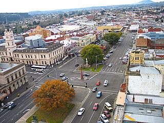 Ballarat Town in Victoria, Australia