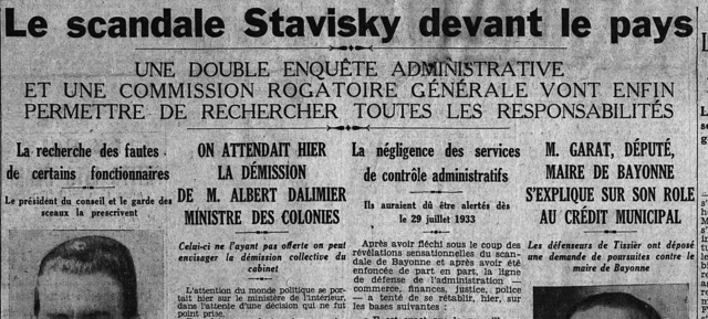 ¤ TOPIC OFFICIEL ¤ [V1933] - Page 3 640px-Affaire_Stavisky%2C_Une_du_quotidien_Le_Matin%2C_7_janvier_1934